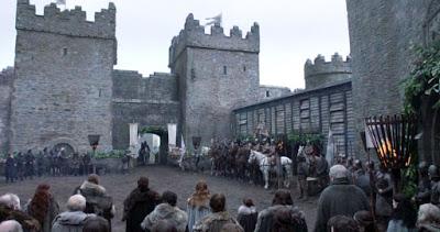 """Cena da série """"Game of Thrones"""", que se passa na Idade Média"""